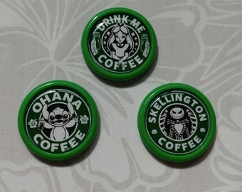 Starbucks Disney Inspired Finished Cameo Setting - lot A