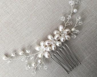 Bridal hair comb, bridal hair comb, wedding hair comb, bridal accessories, bridal headpiece hairpiece haircomb, wedding hair piece