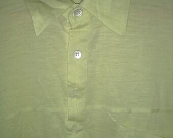 Rare Vintage YSL Polo Tshirt Size L