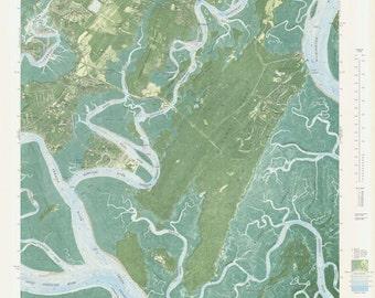 Isle of Hope Map - 1979