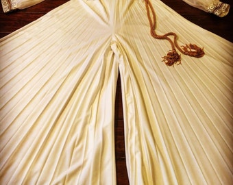 Vintage 1970's Alfred Shaheen Wide Legged Jumpsuit