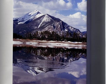 Canvas 24x36; Rocky Mountains Colorado