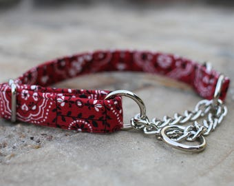 Red Bandana Collar