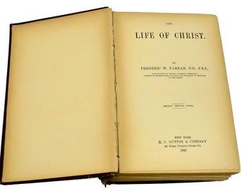 Religious Book, Life of Christ Book, Christian Gifts, Spiritual Book, Jesus Christ, Christian Faith, Religious Biography, Christian Book