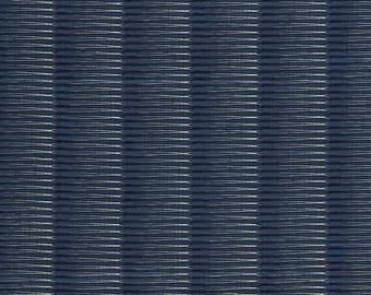 SCALAMANDRE OMBRE MODERN Luxury Jacquard Fabric 10 Yards Indigo