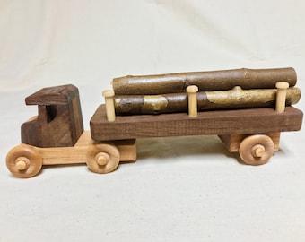 Wood tree truck