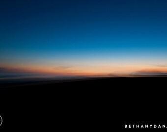Kiawah Island South Carolina Sunset 11x14 Matted Print