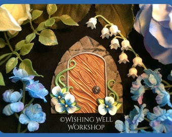 Polymer Blue Fairy Door
