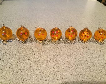 Dragonball Z Star Balls Necklace