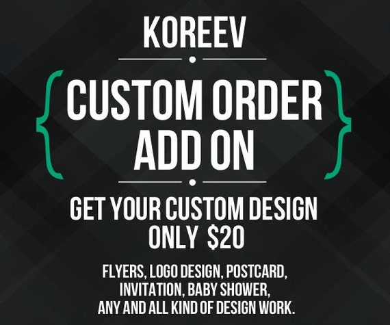 Custom Graphic Designing Work Only Usd 20 Flyer Logo By Koreev