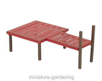 Dock for Miniature Garden, Fairy Garden