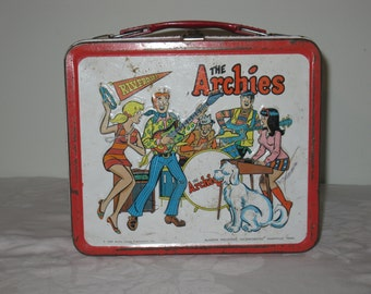 """Vintage 1969 """"The Archies"""" Lunchbox"""