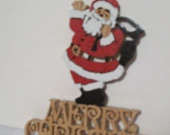 Merry Christmas plaque