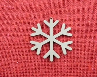 Small Stainless Steel Snowflake Christmas Ornament, Christmas Ornaments, Christmas Decoration, Christmas Decor, Tree Ornament,