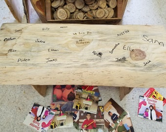 Teacher Appreciation Bench /Reading Bench (students sign)