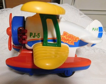 Vintage Puddle Jumper/Airplane by New Bright Quality Toys 1990's