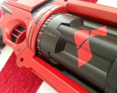 Harley Quinn Inspired Cosplay / Display / Collectible Nerf Pistol (Still fires!)