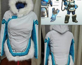 Overwatch Mei Jacket Handmade Cosplay