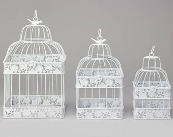 Bird Cages, Rustic Weddings, Bird Cage Centerpieces, Vintage Wedding Decor, Bird Cage Wedding Decor,