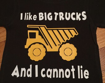 Tonka truck/Construction birthday shirt