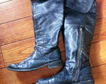 Frye leather boots vintage