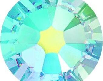 Swarovski Crystal - 2028/2058/2088 - Flatback - Non Hotfix - Aquamarine AB - SS12, SS16, SS20, SS30