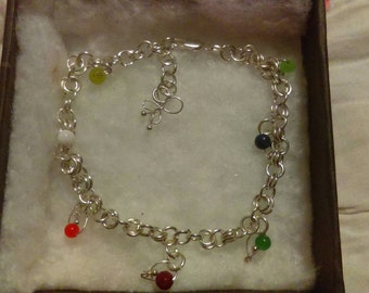 Beautiful Stirling silver bracelet