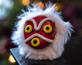 Mononoke's Mask Christmas Ornament