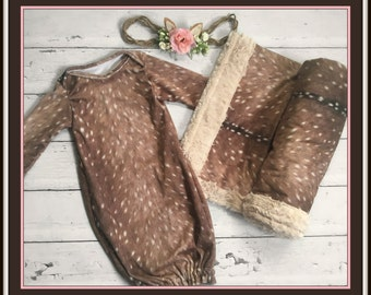 Fawn Blanket - BLANKET ONLY