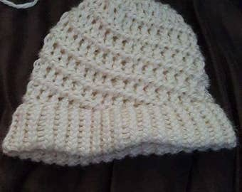 Hand-knitted Womens Hat