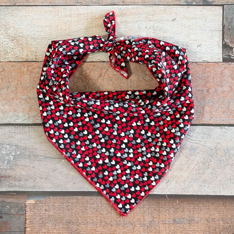 Valentineu0027s Day Dog Bandana, Valentineu0027s Day Bandana, Valentine Dog  Bandana, Tiny Hearts Bandana, Heart Bandana, Tie Bandana