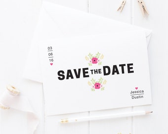 Minimal Save the Date -- SAMPLE