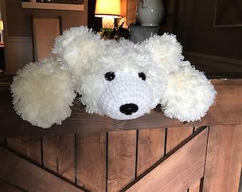 Furry Polar Bear Rug
