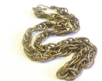 Antique, Victorian, chunky chain necklace.
