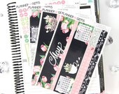 Bloom May Monthly View Planner Kit | 200 Stickers | Planner Stickers | For Erin Condren LifePlanner