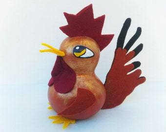 Rooster Decor, Rooster Kitchen Decor, Rooster Figure, Collectible Rooster, Rooster Decoration, Rooster Art, Rooster Figurine