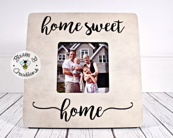 ON SALE Housewarming Gift, Home Sweet Home Sign, Realtor Closing Gift, Mortgage Lender Closing Gift, First Home Buyer Gift, Home Decor