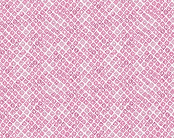 Art Gallery Lavish Seeds of Dahlia Fabric - Pink (Sold by the half yard)