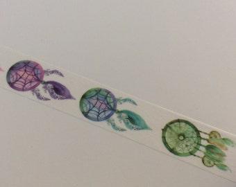 Dream Catcher Washi Tape, Junk Journal-Journal-Art Journal-Snail Mail