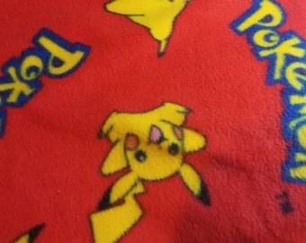 Pokemon fleece blanket
