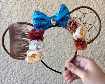 Pocahontas Ears | Pocahontas Inspired Ears | Wire Ears | Mouse Ears | Deeamcatcher