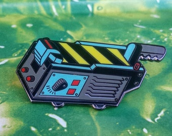 Ghostbusters inspired - Ghost Trap -Lapel Pin - Movie version - 80s Movies