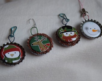 Christmas Backpack Clip or Ornament