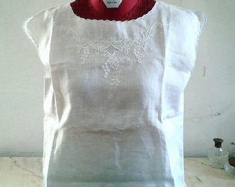 Hand embroidered vintage blouse