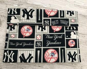 New York Yankees, registration envelope, coupon organizer, clutch, pencil holder