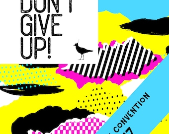 LEVEL 2 Age 6-8 Don't Give Up 2017 Convention. Kids Activities. DIGITAL