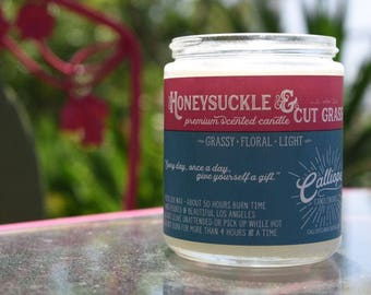 Honeysuckle and Cut Grass Candle