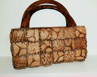 Handmade Coconut Shell Handbag