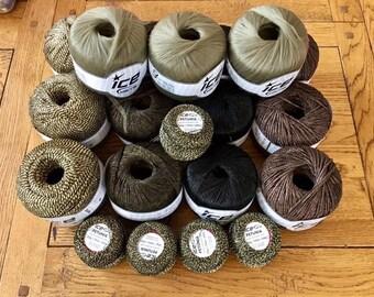 Tape and Ribbon Yarn, Dreamcatcher Yarn, Ice Yarn, Ice Yarns, Black Yarn