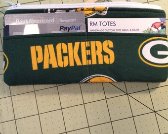 GREEN BAY PACKERS card wallet
